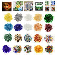 Many Style Lot Colorful Glass Mosaic Tiles for Kids Craft Mosaic Making Material