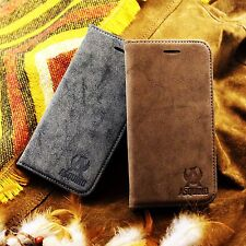 ASQUINO Mobile Phone Case Leather Suede Synthetic Sleeve Cover Pouch Accessories