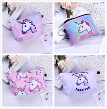 Multifunction Unicorn Purse Box Travel Makeup Cosmetic Bag Toiletry Case Pouch