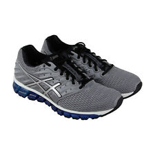 Asics Gel Quantum 180 2 Mens Gray Mesh Athletic Lace Up Running Shoes