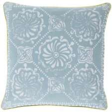 Decorative Sheryl Floral Feather and Down or Polyester Filled PIllow 22-inch