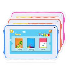 7'' inch HD Android 4.4 Kids Tablet PC Quad Core 8GB Dual Camera Wi-Fi Children