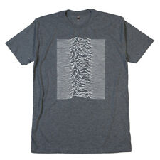Joy Division Unknown Pleasures T Shirt Ian Curtis Vinyl Album Record Tee Poster
