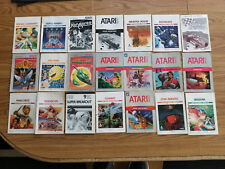ATARI 2600 GAME MANUALS - YOUR CHOICE OF 21 COMBINED SHIPPING DISCOUNTS
