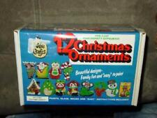 Wee Crafts Kit - Christmas Ornaments - OLD TIME VARIETY SET #1001 (SEALED)