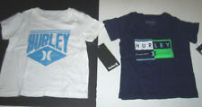 New Hurley short sleeve tee T shirt boys white blue 12m 18m 24m 12 18 24 months
