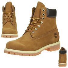 TIMBERLAND 6-INCH PREMIUM MEN'S BOOTS WATERPROOF 72066 Rust Orange