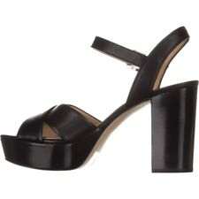 MICHAEL Michael Kors Womens Divia Leather Open Toe Casual Ankle Strap Sandals