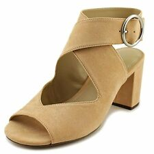 Charles by Charles David Womens Kali Suede Peep Toe Casual Ankle Strap Sandals