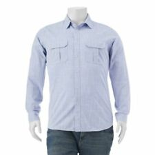 Apt 9 Mens Long Sleeve Button Down Classic Fit Roll Tab Casual Shirt VARIOUS