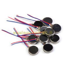 2/5/10pcs Pager Cell Phone Mobile Coin Flat Vibrating Vibration Micro Motor