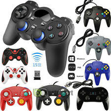 2x Gaming Controller Pad Joystick For Nintendo N64 / SNES / Wii /Gamecube GC Wii