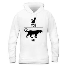 Cat And Tiger You And Me Women's Hoodie