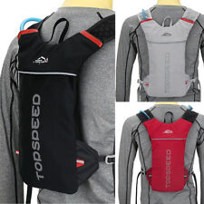 Marathon Running Sport Cycling Vest Style Polyester Water Bag Hydration Backpack