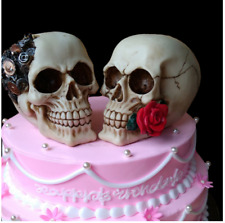3D Skull Head Rose Silicone Mold Moisturizing Cake Mold Chocolate Candy Soap