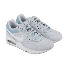 Nike Air Max Ivo Womens White Mesh Athletic Lace Up Skate Shoes