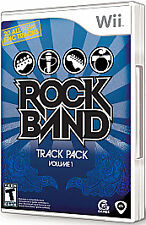 Rock Band Track Pack: Vol. 1 (Nintendo Wii, 2008)