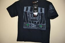 LEGO STAR WARS/DARTH VADERS CHEST-BOYS SIZE 5/6-LICENSED SHORT SLEEVE-NWT