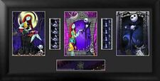 Tim Burtons Nightmare Before Christmas Trio Film Cell Limited Edition COA
