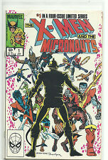 (1984) MARVEL COMICS X-MEN AND THE MICRONAUTS #1-4 SET - VF