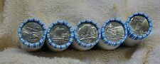 5 GEM BU SEALED WESTWARD JOURNEY NICKEL ROLLS BISON OCEAN PEACE KEELBOAT 2006-D!