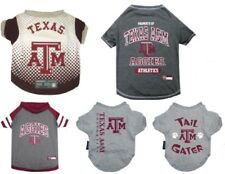 Texas A&M Aggies Dog Shirts - Fan Gear NCAA LICENSED - All Sizes