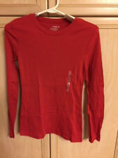 NWT Old Navy Classic Cotton Long Sleeve Crew Neck TShirt Size M