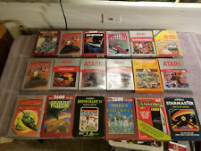 ATARI 2600 BOXED GAMES - 18 GAMES YOUR CHOICE COMBINED SHIPPING DISCOUNTS -