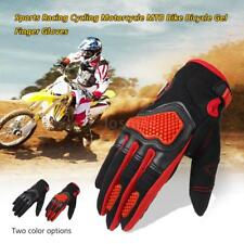 Sports Racing Cycling Motorcycle MTB Bike Bicycle Gel  Finger Gloves H7F3