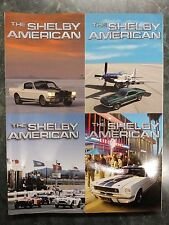 SHELBY AMERICAN ANNUAL MAGAZINE SAAC 2004 2005 2007 2009 2010 2011 2012 mustang