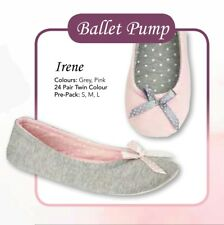 Fashion Ladies Womens Pumps Ballet Ballerina Flat Bow Dolly Loafers Shoes Casual