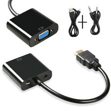 NEW 1080P HDMI Male to VGA Female Video Cable Cord Converter Adapter For PC HDTV