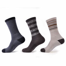 SOLAX 72% Merino Wool men's Hiking Outdoor Trail Crew Trainer Socks 3 Pack