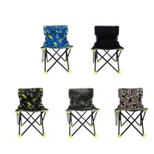 Fishing Foldable Chair Folding Chair Camping Hiking Stool Beach Picnic Rest