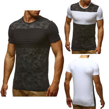 Men Slim Fit O Neck Muscle Tee T-shirt Short Sleeve Casual Sport Tops Blouse Tee