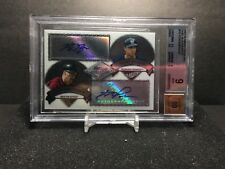 2007 Bowman Sterling Dual Autograph Ryan Braun and Hunter Pence 038/275 RC