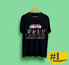 New IRON MAIDEN Legacy of the Beast tour 2018 Black T-shirt Gildan Size  S - 2XL