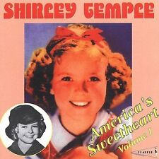 America's Sweetheart, Vol. 1 by Shirley Temple (CD, Sep-1996, Pearl Flapper) NEW