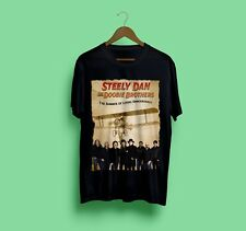 Steely Dan ft The Doobie Brothers The Summer of Living Dangerously Black  S-2XL