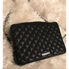 REBECCA MINKOFF Flirty Quilted Crossbody Bag BLACK Purse ($245) NWT