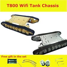 T800 4WD Metal Wall-E Tank Tracked Caterpillar Chassis for UNO R3 NodeMCU board