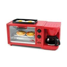3in1 Breakfast Maker Machine MultiCenter Coffee Toaster Oven Station Extra Large