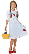 Little Girls' Wizard of Oz Dorothy Costume Fantasy Nightgown With Ruby Slippers