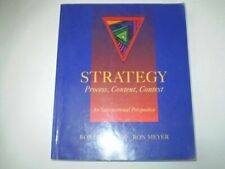 Strategy: Process, Content and Context - An International Perspective, Bob De Wi