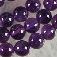 AAA+++8mm Natural Russican Amethyst Gemstones Round Loose Beads 15''
