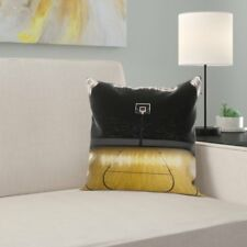 East Urban Home Teen Room Decor Empty Arena Square Pillow Cover