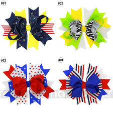 1PC Mixed Swallow Bowknot Hair Band Accessories Handmade For Kid Girl