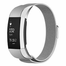 For Fitbit Charge 2 Replacement Stainless Steel Wristband Watch Band Loop Strap