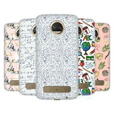OFFICIAL JULIA BADEEVA ASSORTED PATTERNS 3 HARD BACK CASE FOR MOTOROLA PHONES 1