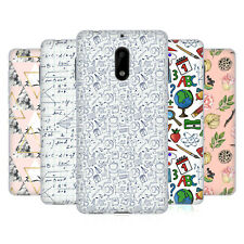 OFFICIAL JULIA BADEEVA ASSORTED PATTERNS 3 SOFT GEL CASE FOR NOKIA PHONES 1